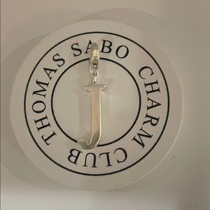 "Thomas Sabo letter ""J"" charm"